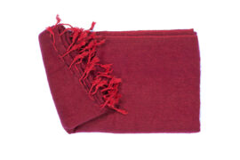 Grote Shawl Wijnrood