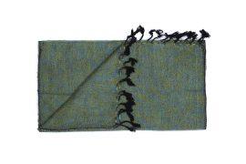 Shawl Groen-blauw