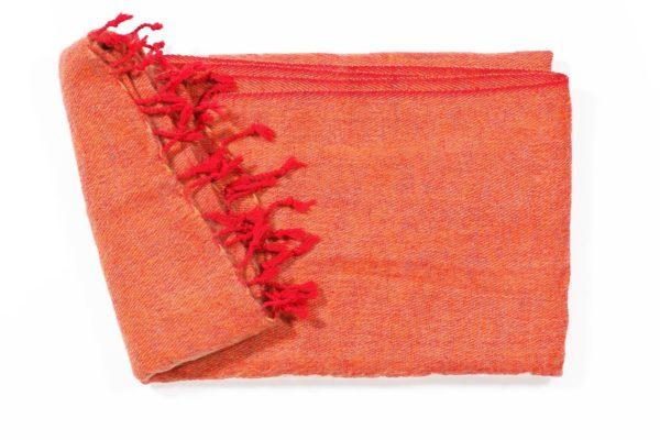 Grote Shawl Oranje 1