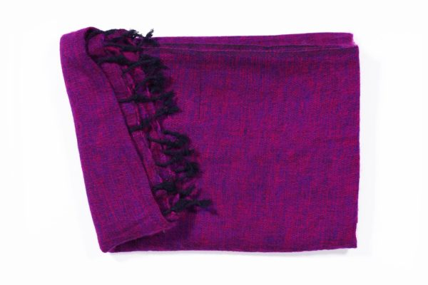 Shawl paars roze