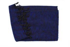 Grote Shawl Donkerblauw