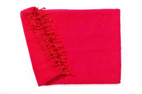 Shawl rood roze