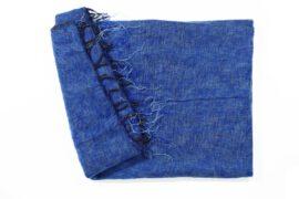 Grote Shawl Poederblauw